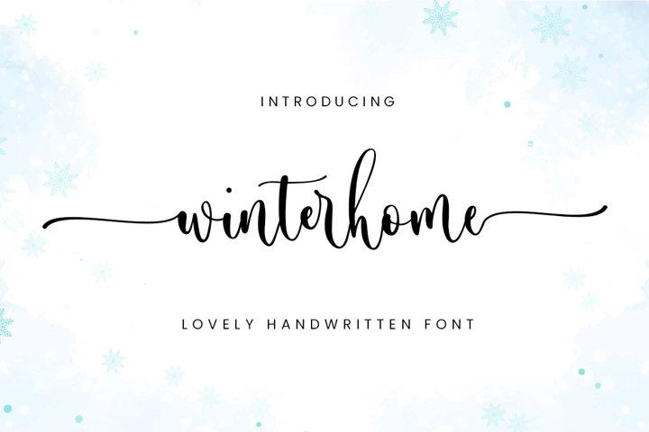 Winterhome - Lovely Calligraphy
