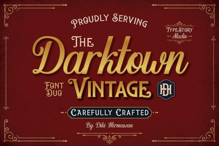 Darktown Font Duo