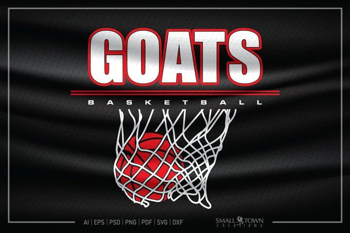 Goats, Goats Basketball, Goats SVG, Goats Basketball SVG