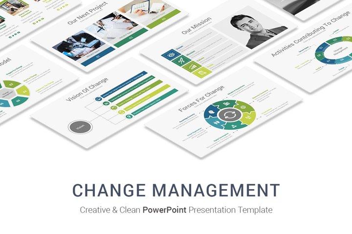 Change Management In Business PowerPoint Presentation