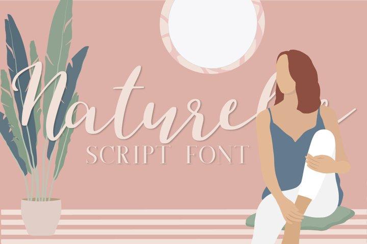 Naturelle Script Font