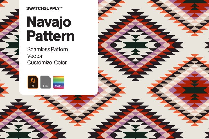 Custom Navajo Aztec Pattern