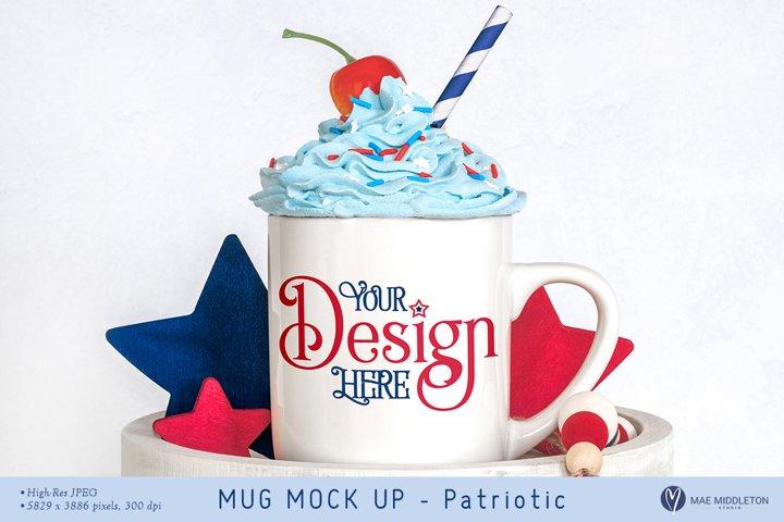Mug Mock up, Patriotic