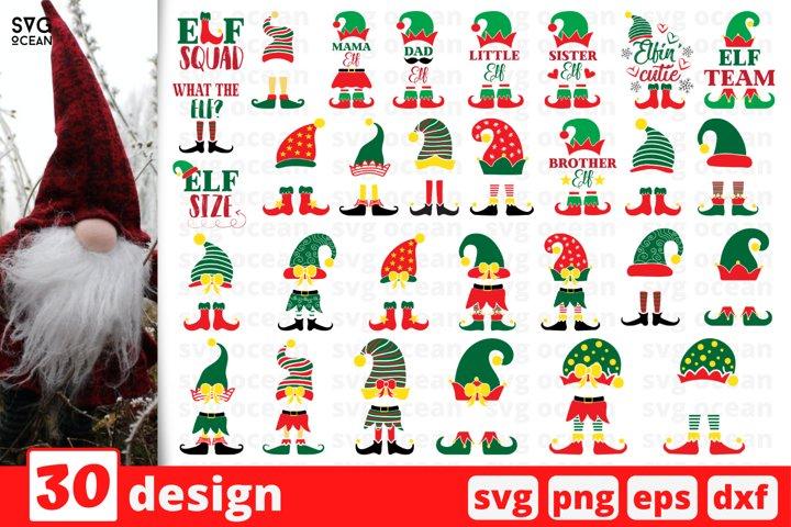 Christmas Elf SVG Bundle | Christmas Quote Svg Cut File