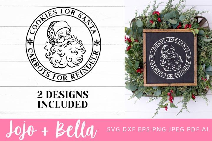 Cookies For Santa Svg | Christmas Svg | Santa Svg