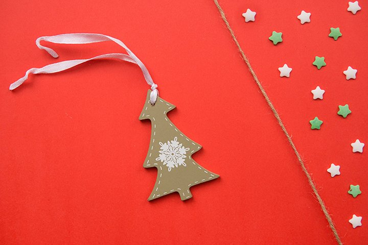 Christmas decorations decorative background.