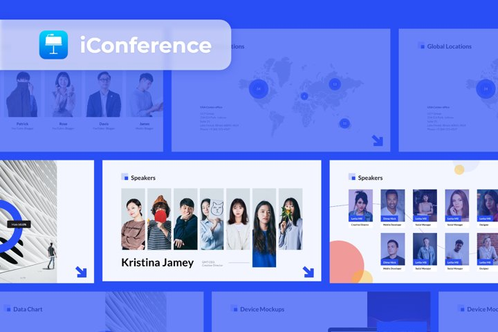 iConference - Smooth Animated Keynote Template