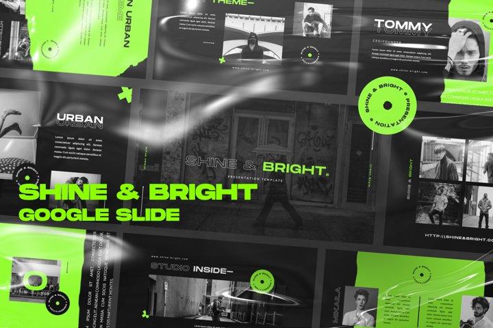 Shine & Bright Google Slide