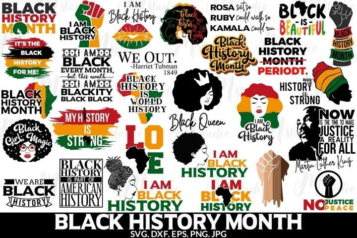 Black History Month svg bundle.