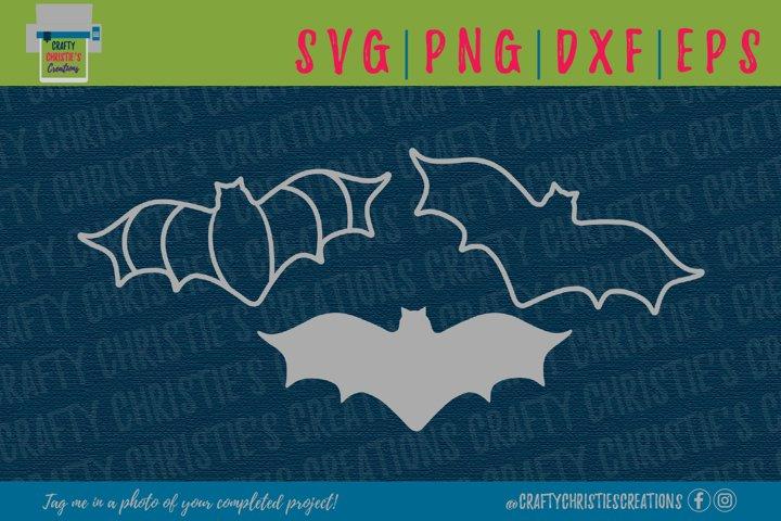 Bat SVG - Halloween Bat SVG - Spooky SVG - Halloween SVG