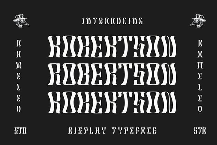 Robertson Typeface