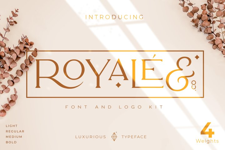 Royale Luxurious Typeface