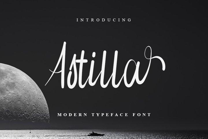 Astilla - Beautiful Script Font