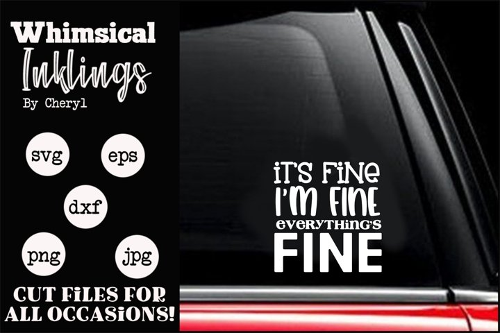 Its Fine SVG