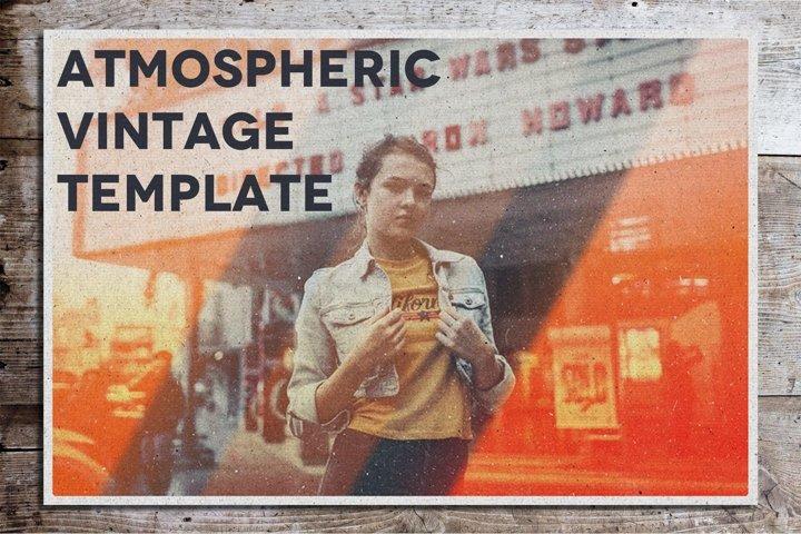 Atmospheric Vintage Template