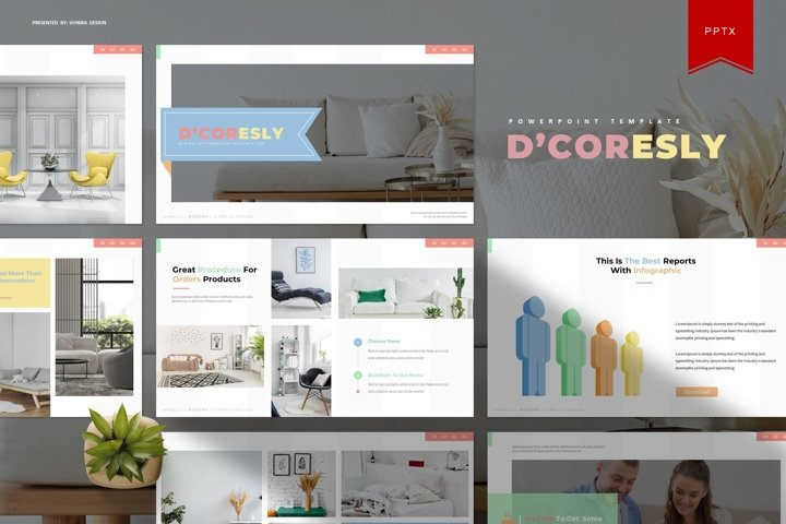 DCoresly | Powerpoint Template