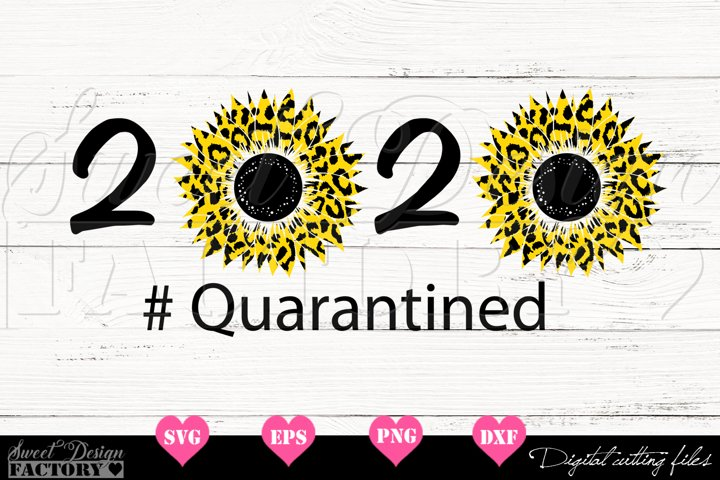 2020 Sunflower leopard print Svg