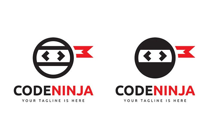 Code Ninja Logo Template