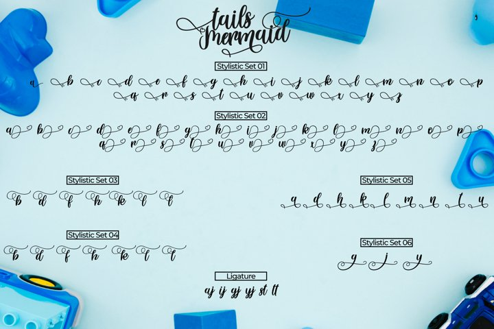 Tails Mermaid - a Crafted Script - Free Font of The Week Design4