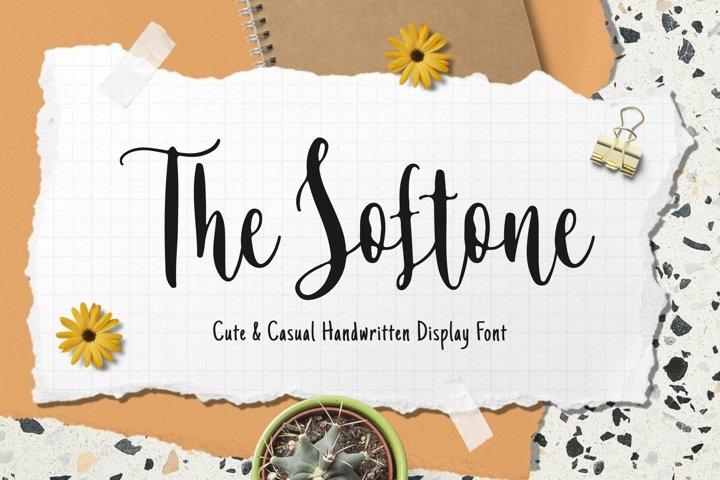Softone - Casual Handwritten Font