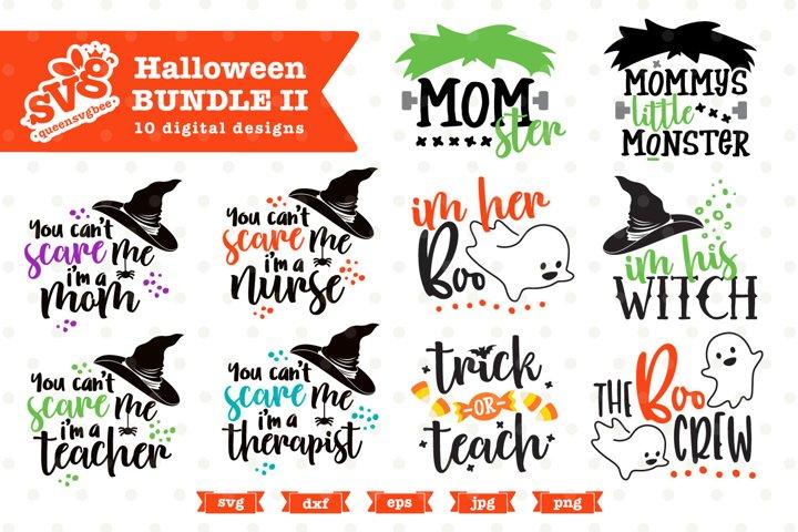 Halloween SVG Bundle | Halloween PNG Bundle