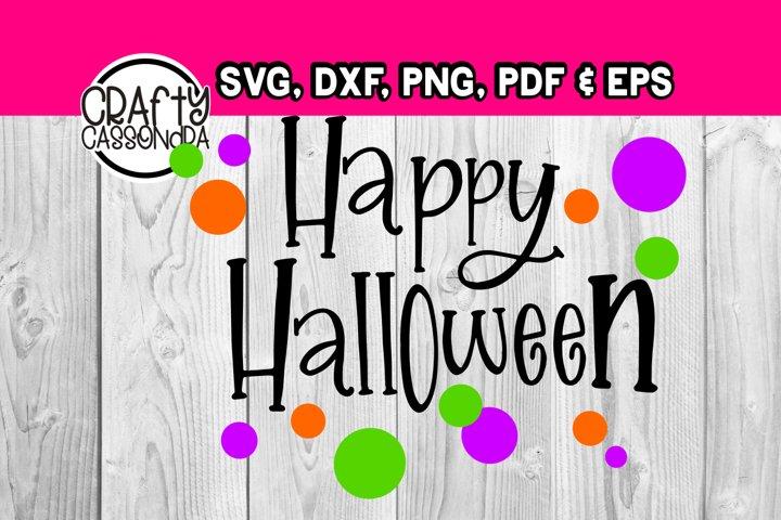 Happy Halloween - Halloween svg - DIY projects for halloween