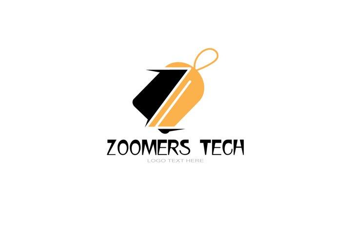 Z Letter Logo In Tag, discount logo