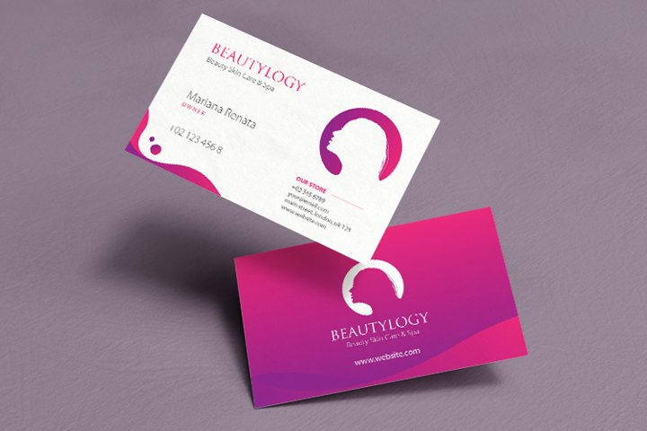 Beauty Business Card Template