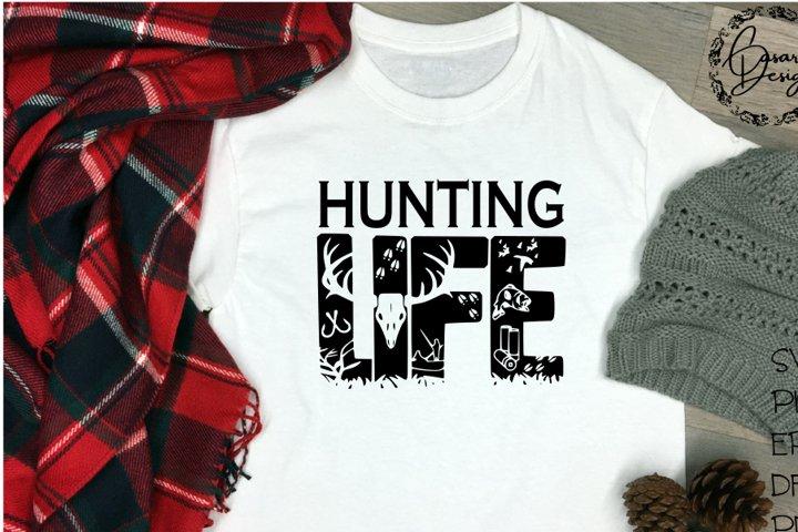 Hunting Life Design, SVG, PNG, ETC