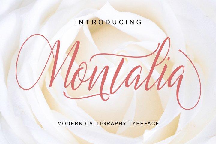 Montalia Script
