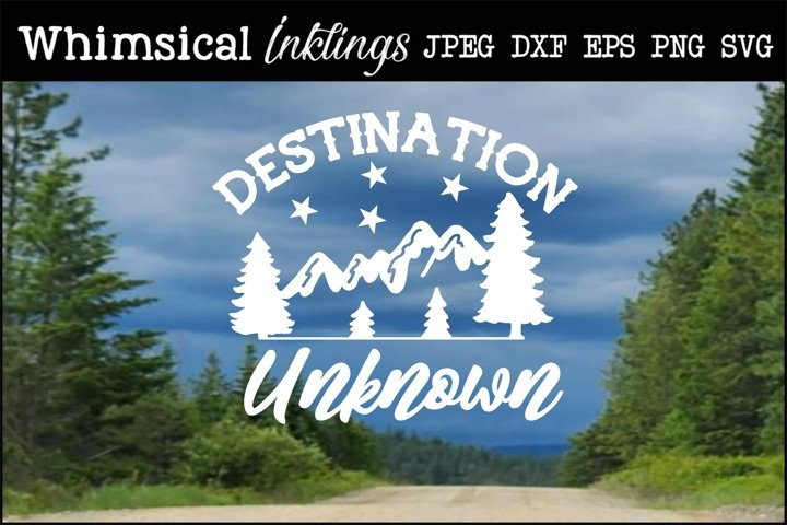 Destination Unknown SVG