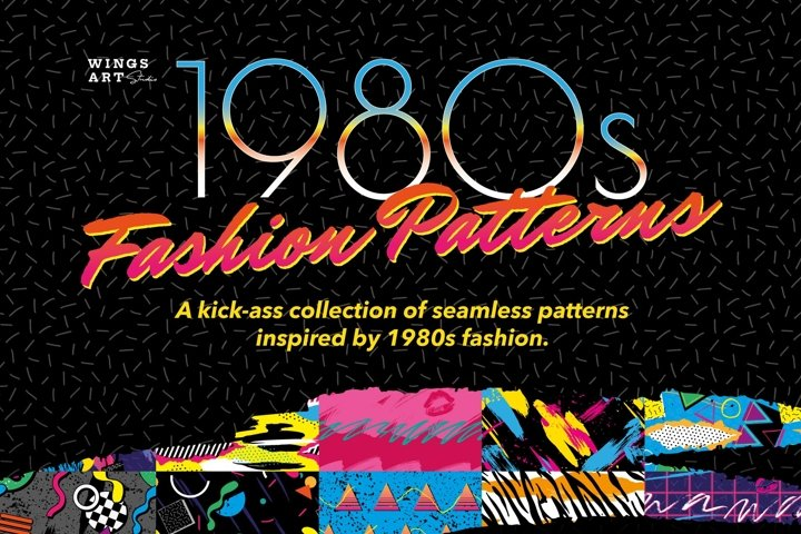 1980s Fashion Patterns Volume One
