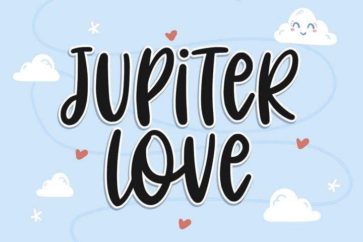 Jupiter Love | Handwritten Font