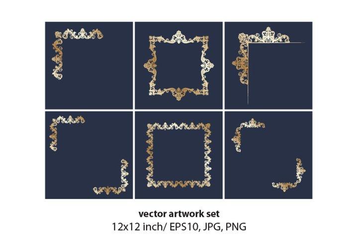 Scroll Frame - VECTOR ARTWORK SET