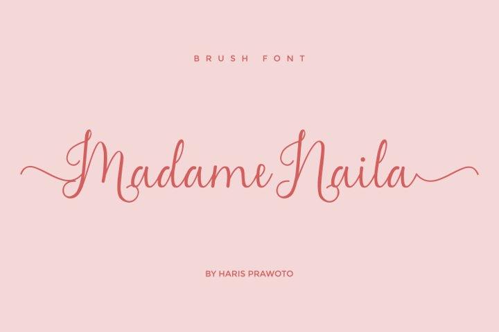 Madame Naila- Lovely Modern Calligraphy