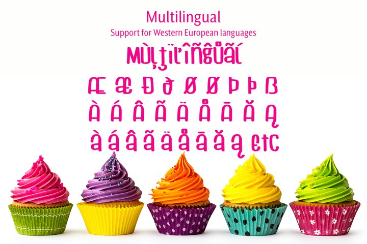 Cuppycake - an impossibly cute font - Free Font of The Week Design9