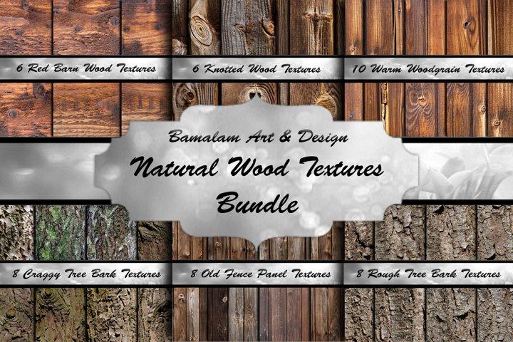 Woodgrain Textures Bundle