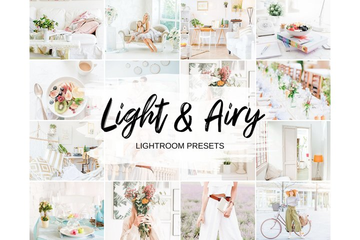 Light & Airy Lightroom Presets Mobile & Desktop