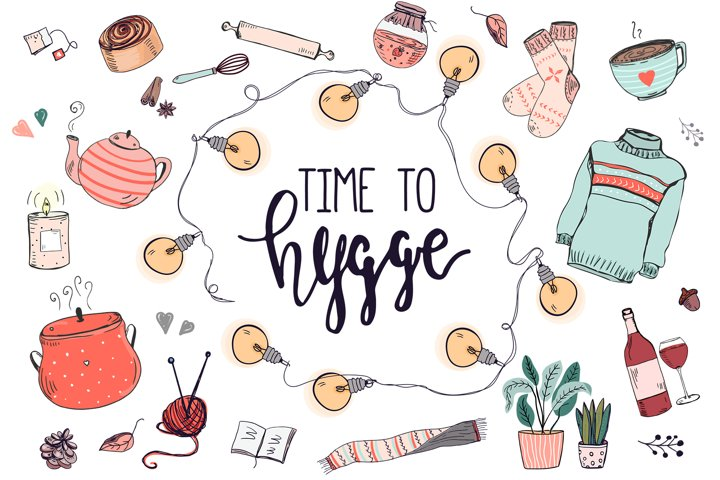 Time to hygge. Vector bundle