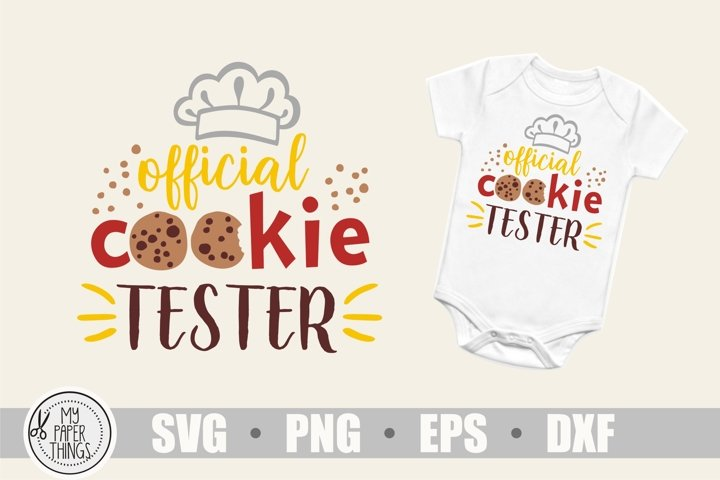 Baby Christmas svg, Cookie tester svg