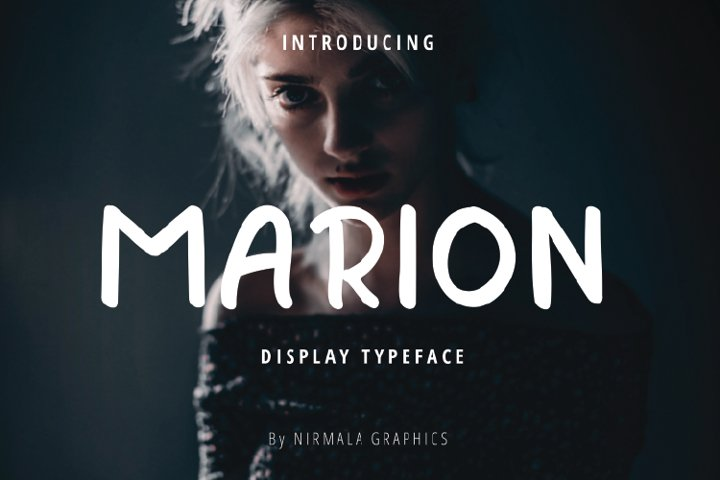 Marion - Display Typeface