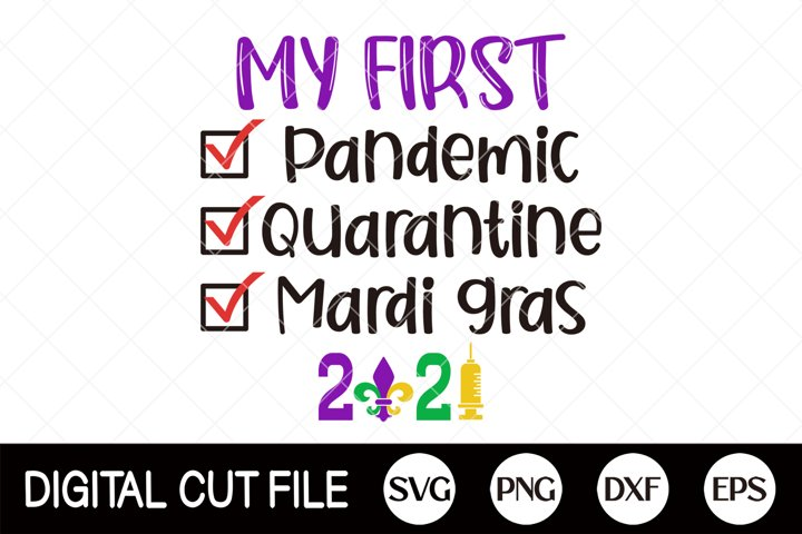 2021, Mardi Gras Svg, Mardi Gras Cut File, Shirt, Clip art