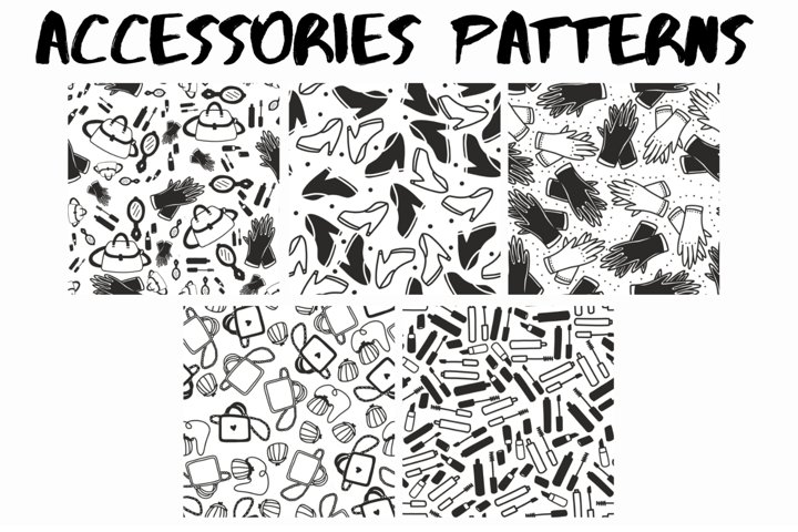 50 accessories patterns