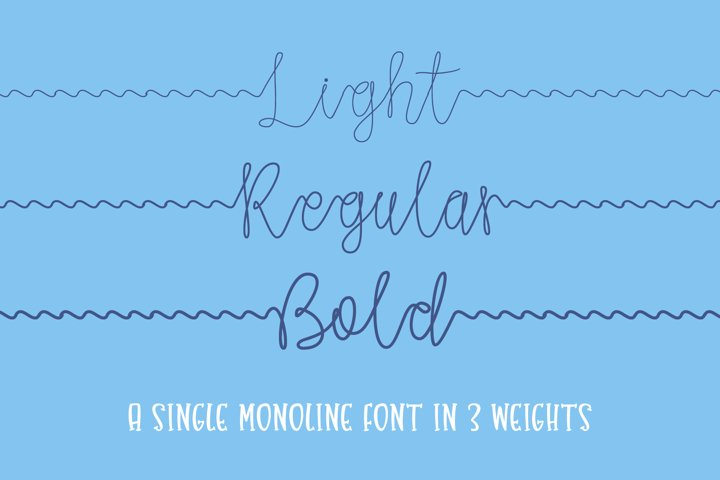 Gone Fishing - a fishing line font - Free Font Of The Week Design7