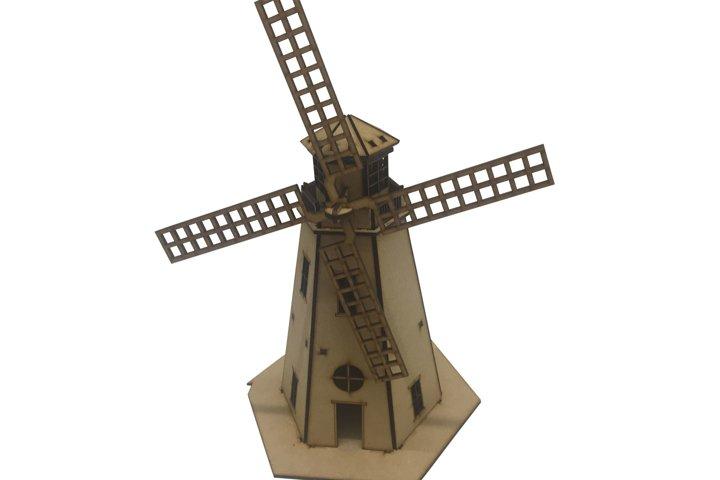 Dutch windmill LASERCUT Files