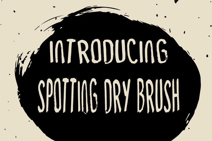 Spotting Dry Brush