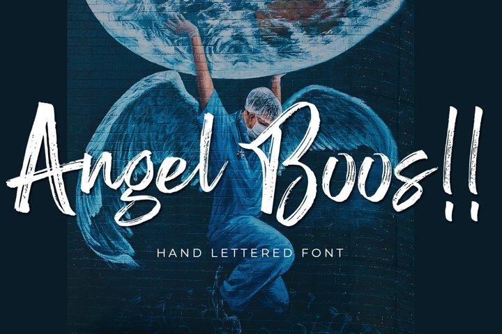 Angel Boos - Handlettered Font
