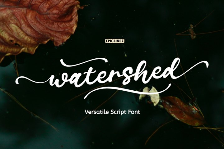 Watershed Script example