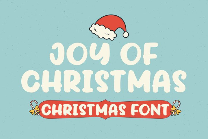 Joy Of Christmas Fonts