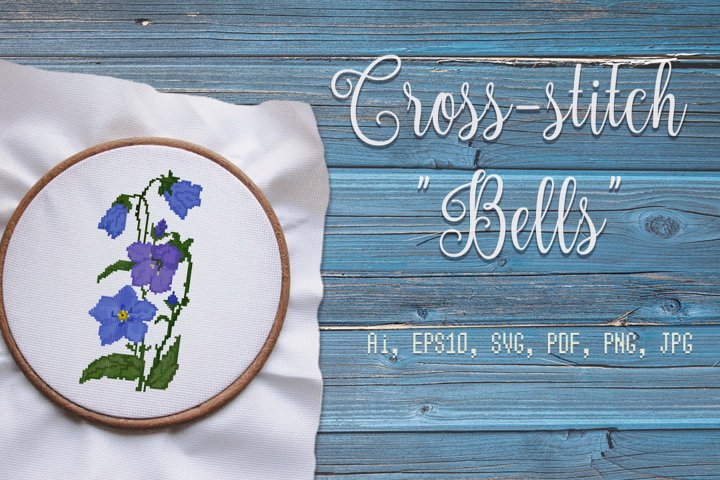 Cross-stitch Bells